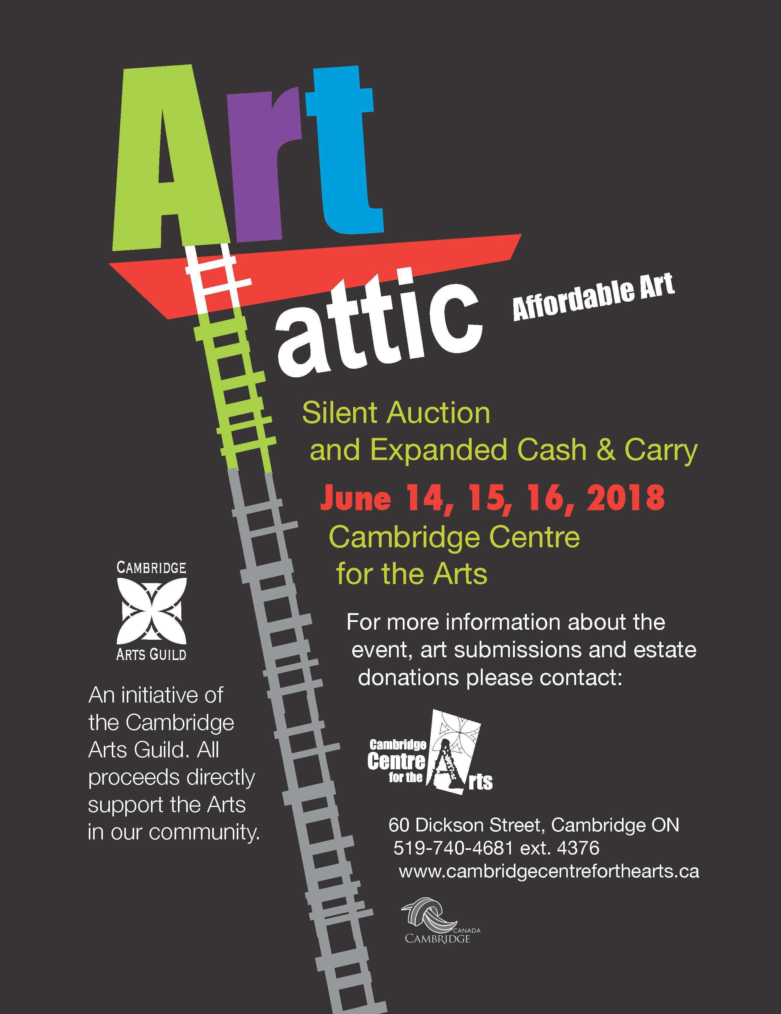 Art Attic 2018 June 14,15,16