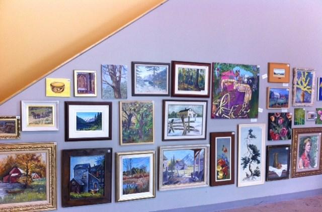 art attic collage