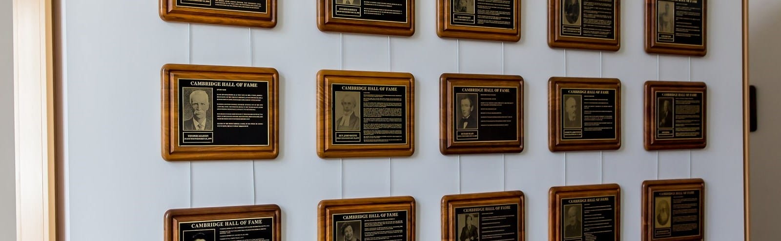 Cambridge Hall of Fame