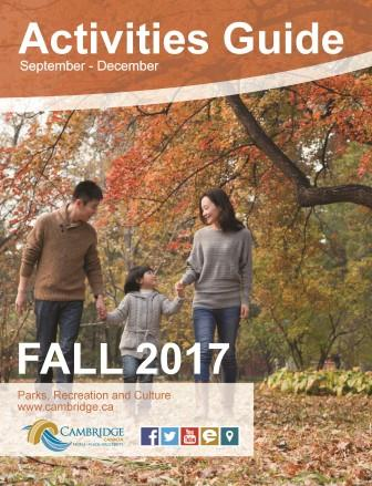 Fall Activities Guide Cover