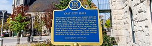 Galt City Hall Plaque