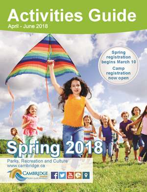 Spring 2018 Activities Guide cover image