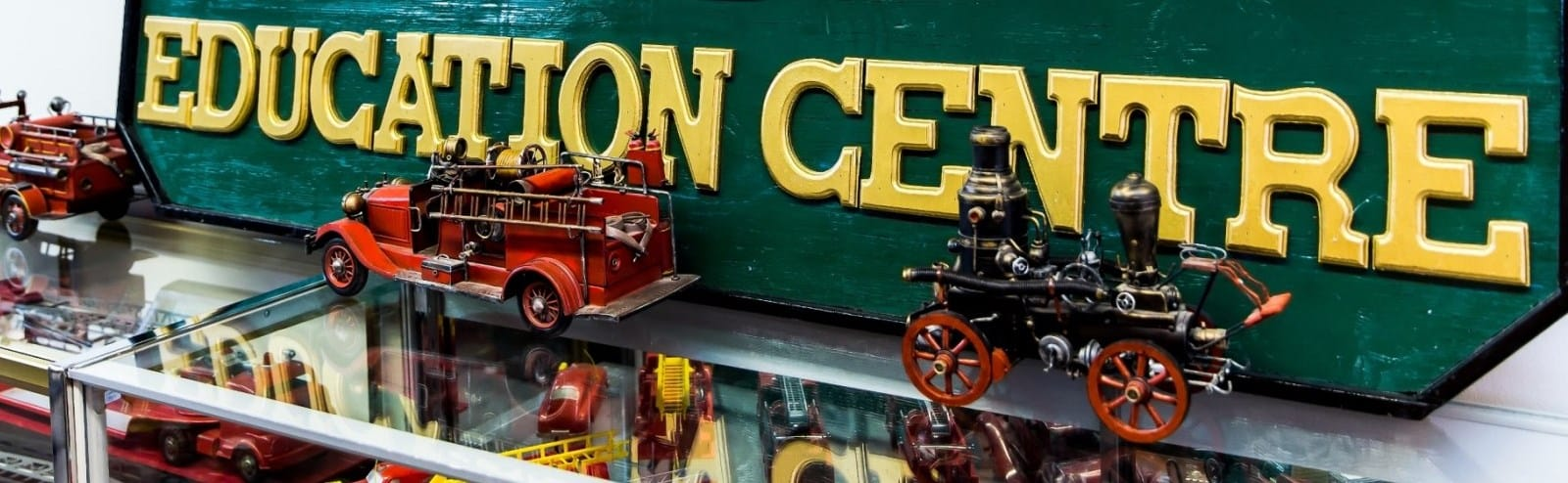 Toy fire trucks