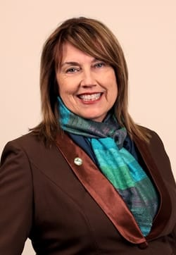 Portrait of Councillor Pam Wolf
