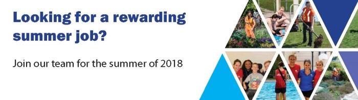 Summer Student Jobs Banner